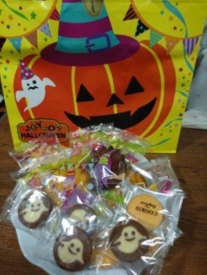 ハロウェインのお菓子画像