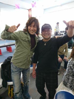 健太郎さんと石田さんの写真
