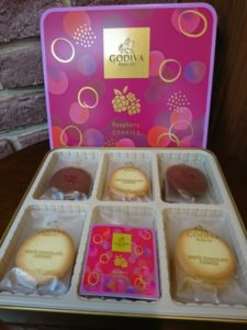 ゴディバのクッキー画像
