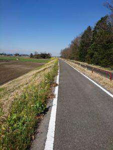 サイクリングロード画像