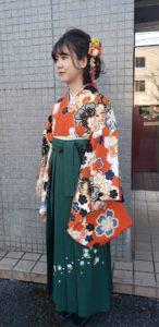 卒業式袴画像