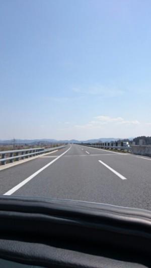 運転席からの画像