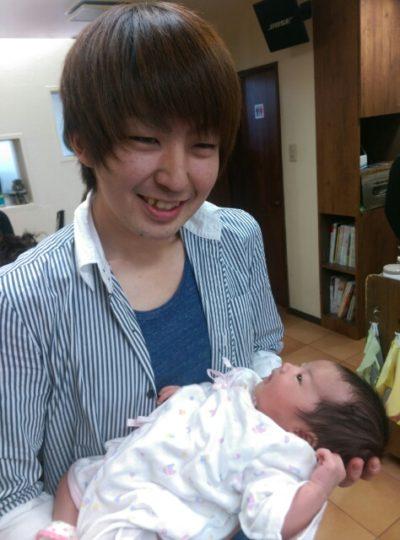 ハッチと赤ちゃん画像