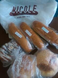 パンのいただきもの画像