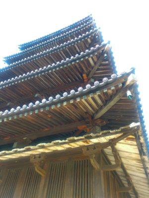 法隆寺五重塔の画像