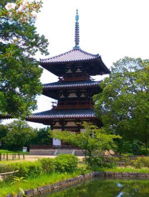 法起寺三重塔画像