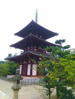法輪寺三重塔画像
