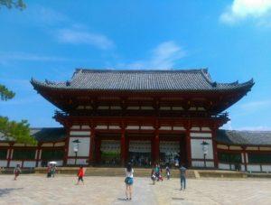 東大寺中門画像