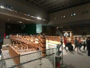 江戸東京博物館内画像