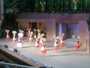 フラダンスステージ画像