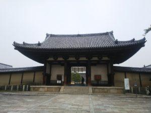 法隆寺南大門画像