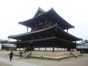 法隆寺金堂画像