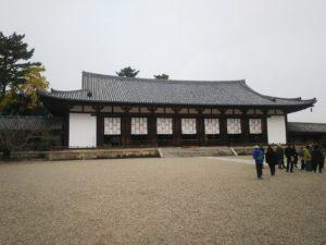 法隆寺大講堂画像