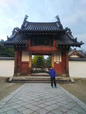 萬福寺総門画像