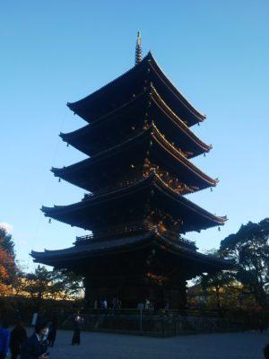東寺五重塔画像