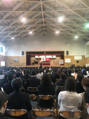 卒業式画像