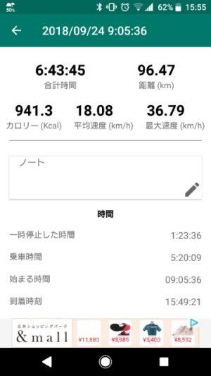 サイクリングデータ画像