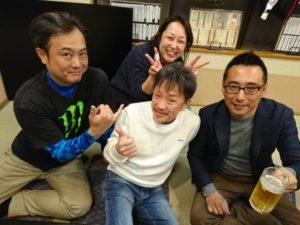杉山さん、渡邉さん、宏美さん、蟻坂さん画像