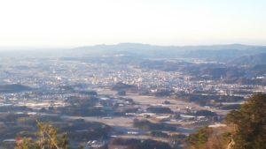見晴台からの風景画像
