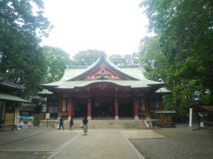 世田谷八幡宮画像