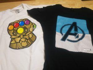 アベンジャーズTシャツ画像