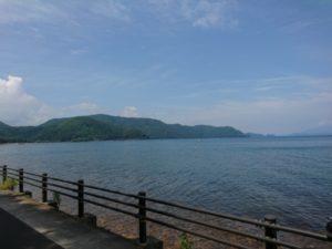 猪苗代湖画像