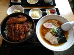 ソースカツ丼セット画像