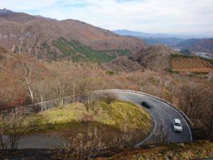 いろは坂からの景色画像