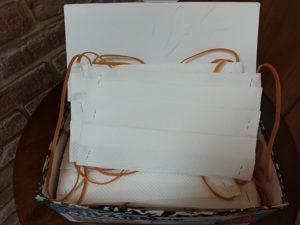 使い捨て手作りマスク画像