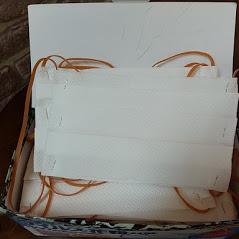 手作りマスク画像