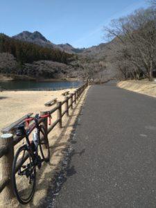 古賀志山サイクリングロード画像