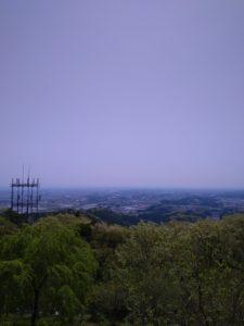羽黒山からの景色