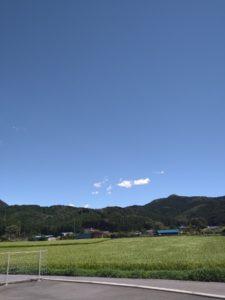 晴天の風景画像