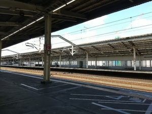 宇都宮駅新幹線ホーム画像